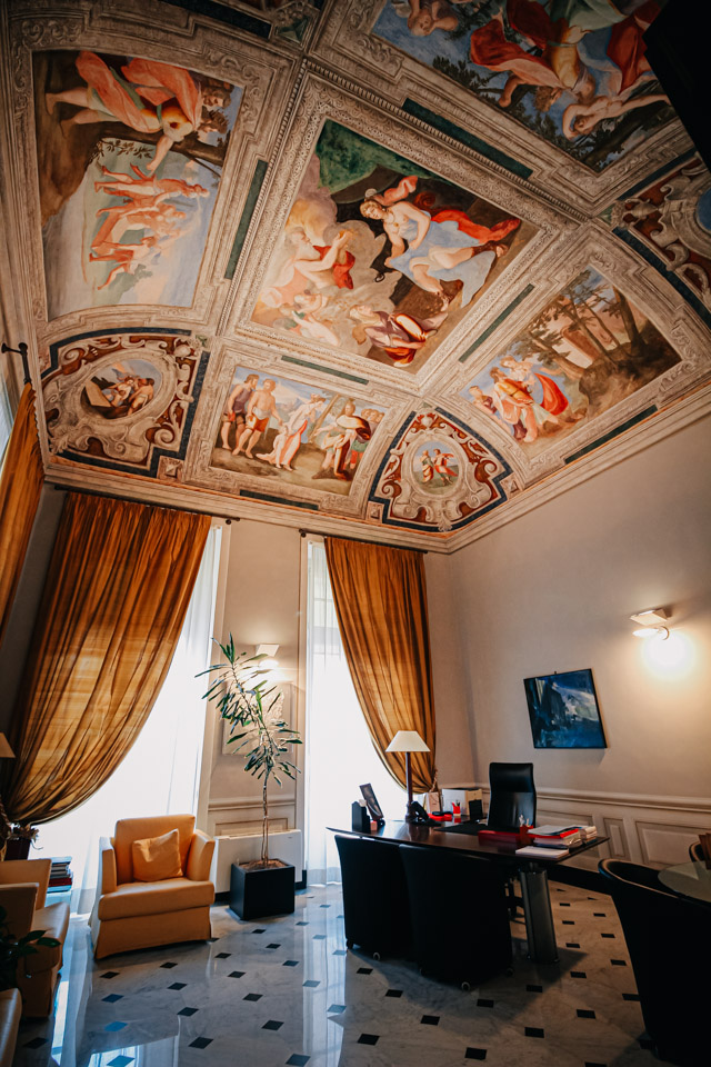 Палаццо Панталео Спинола на улице Гарибальди 2 в Генуе