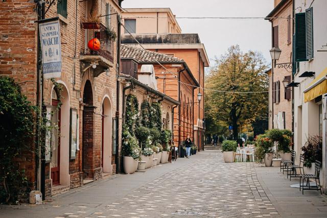 Здание старинной типографии в Сантарканджело ди Романья