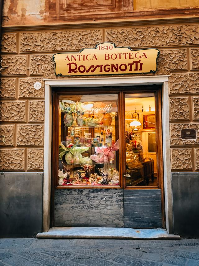 историческая боттега в Сестри Леванте в Италии