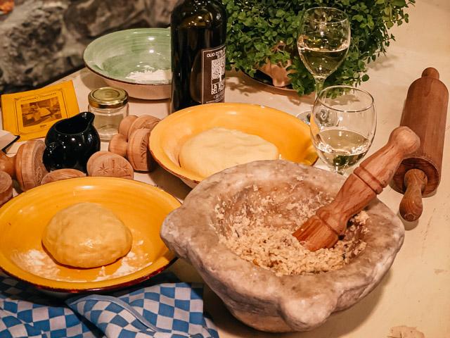 кулинарный мастер-класс в Сестри Леванте в Италии регион Лигурия