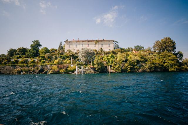 остров мадре на озере маджоре в италии