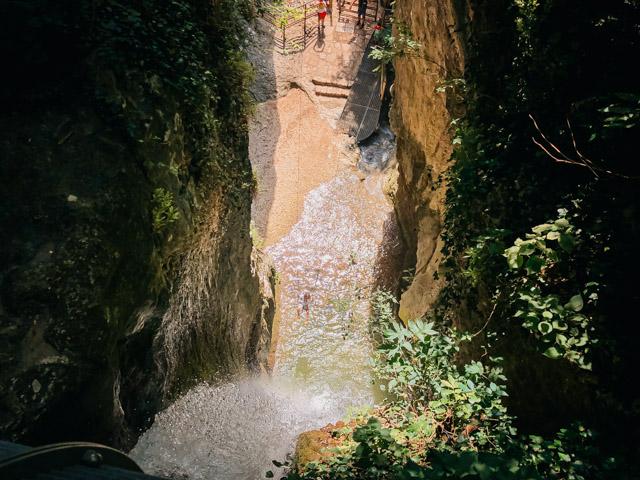 Парк водопадов рядом с Вероной