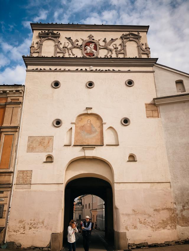 ворота в вильнюсе
