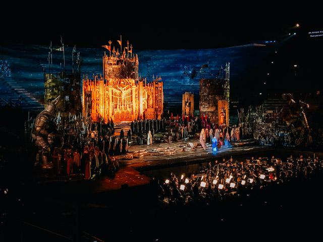оперный фестиваль в арена ди Верона, Италия
