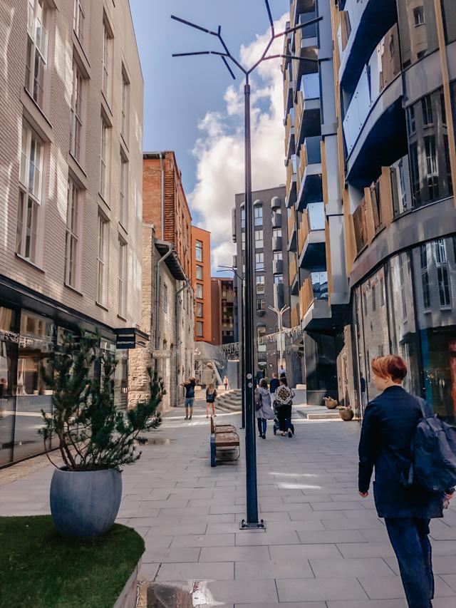 Район Ротерманни в центре Таллина