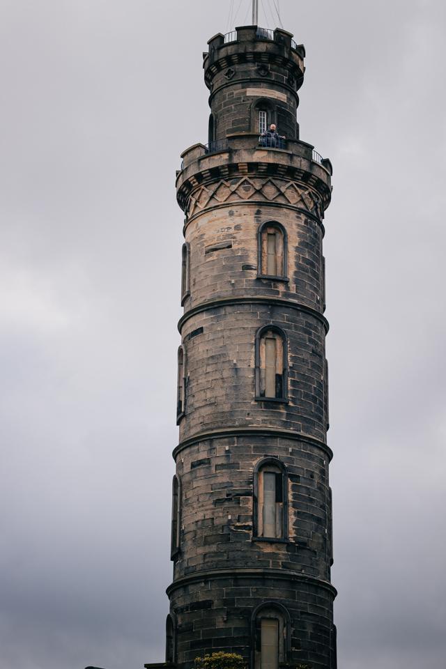 Монумент Нельсону в Эдинбурге
