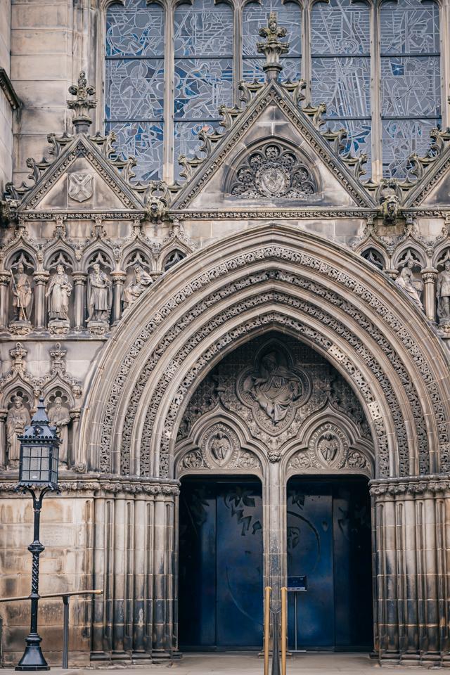 Собор Святого Эгидия в Эдинбурге на королевской миле